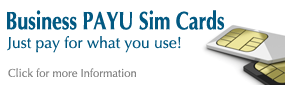 Pay As You Use Sim Cards